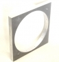 Aluminium Circular Frame For 7 Inch Rubber Mould