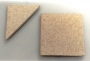 Set Of Two Ceramic Mats For Small Kilns