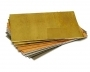 Galvanised Mild Steel Sheet: 50mm x 50mm x 0.7mm Thickness