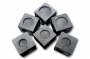 """6 in 1(Coins set) Cubic Graphite Mould For 6 x """"Coin"""" Type Ingot"""