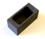 3.8 Oz (113 G) Brass Graphite Mould - TRADITIONAL BAR